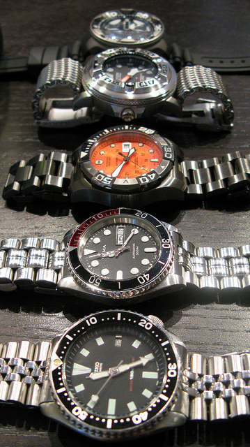 what determines a good dive watch