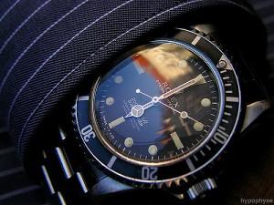 rolex submariner diver's watch